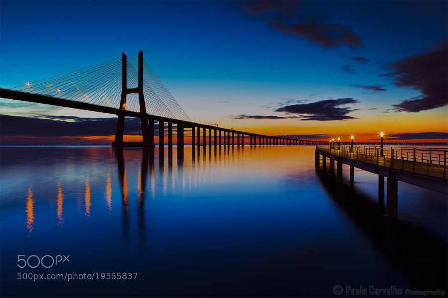 Photograph Vasco da Gama Bridge by Paulo Carvalho on 500px