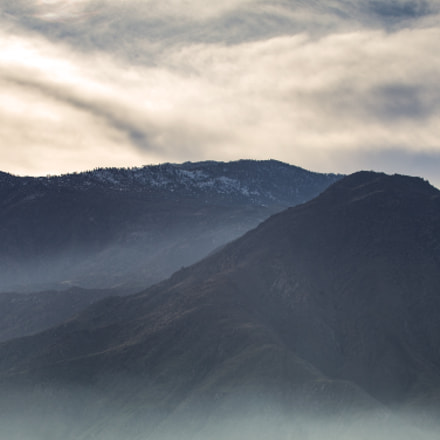 Misty Mountains, Canon EOS 6D, Canon EF 70-200mm f/4L