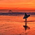 End of a surfer's day