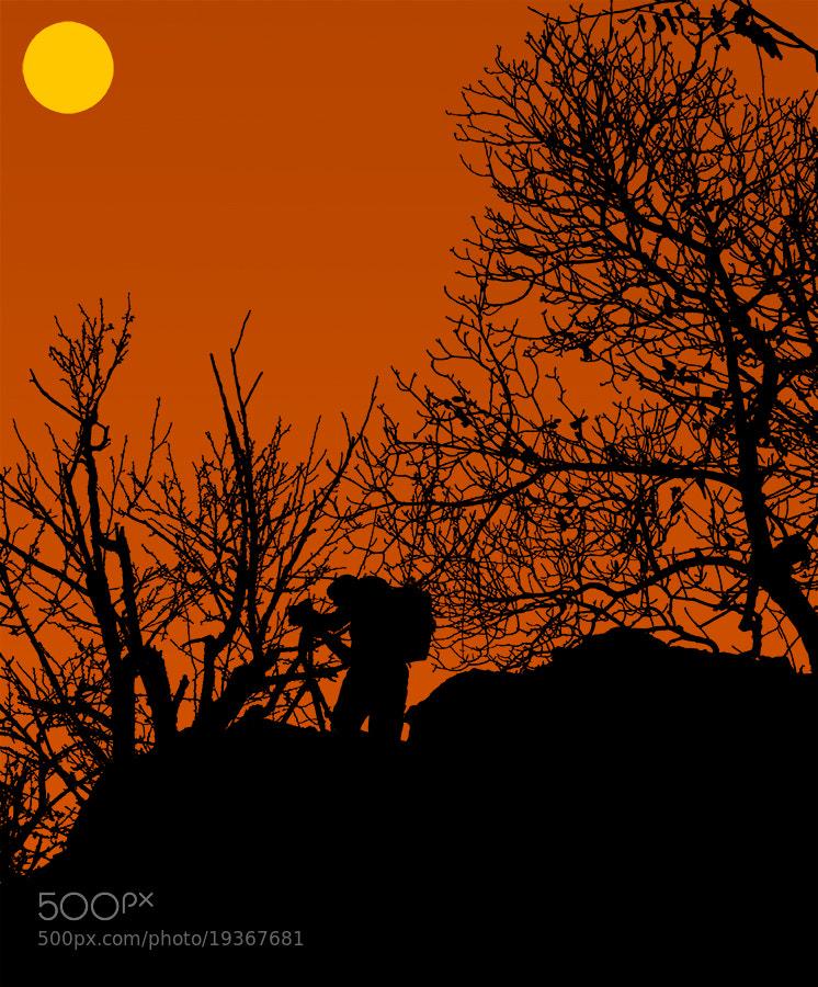 Photograph  Photographer silhouette  by Tomislav Gašparović on 500px