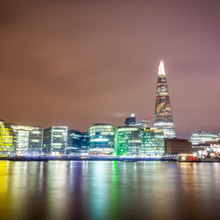 London Shard, Canon EOS 5D MARK II, Sigma 17-35mm f/2.8-4 EX DG Aspherical HSM