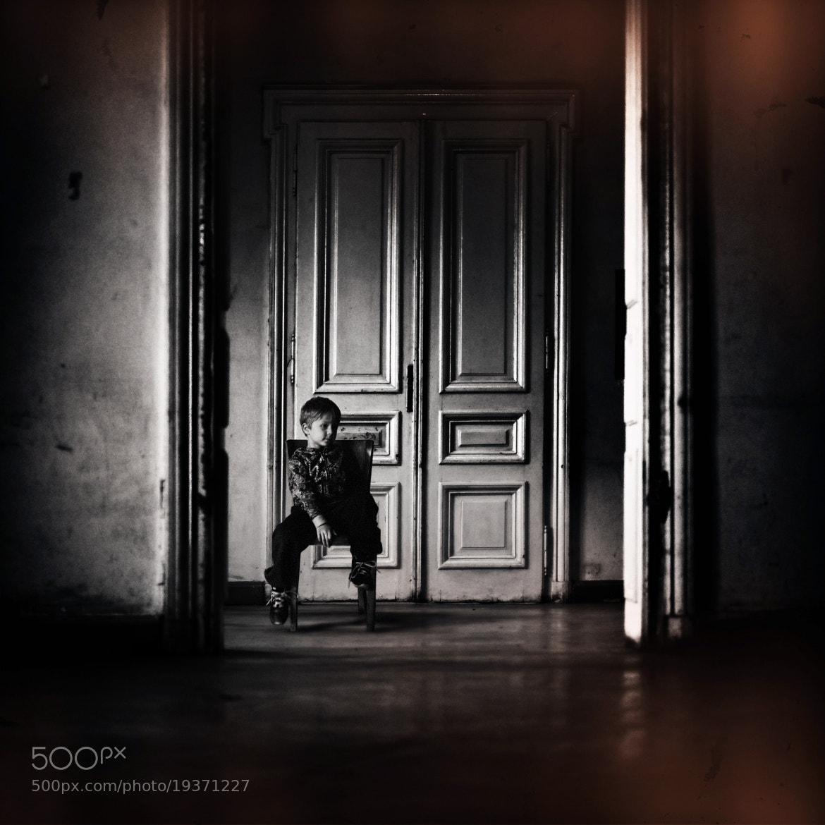 Photograph of boys and chairs by Dragan Todorović on 500px