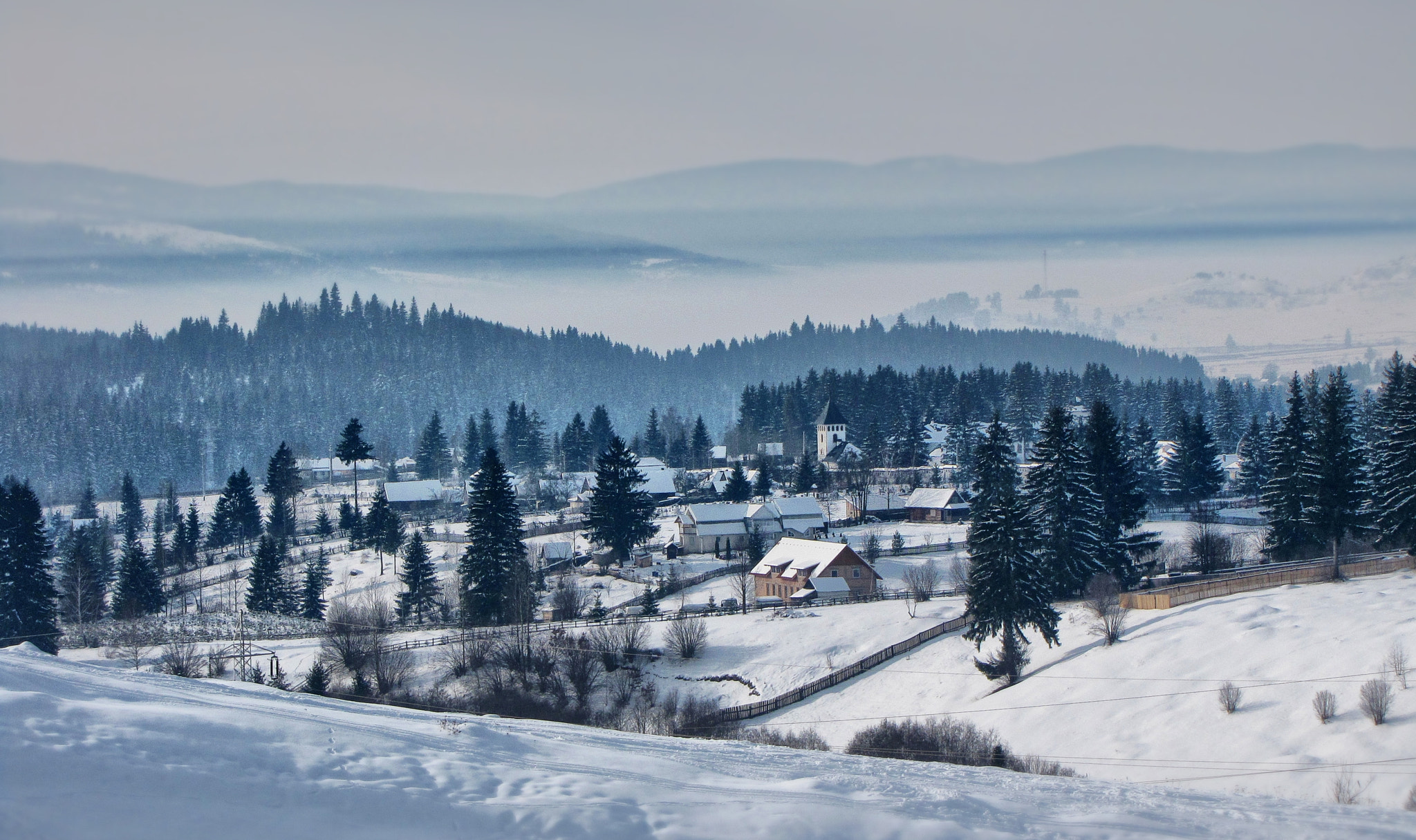 Photograph Winter in Transylvania by R W Robert Photo on 500px