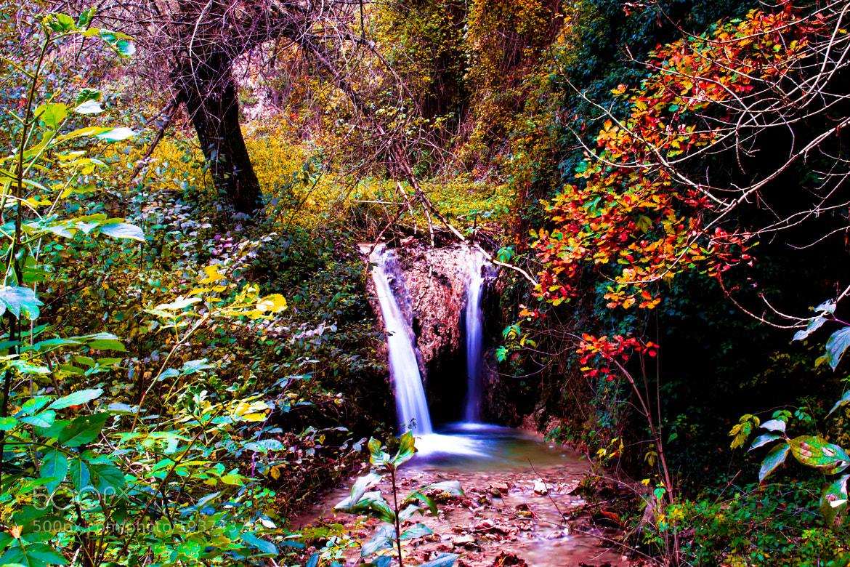 Photograph little waterfall by Matteo Napoleoni on 500px