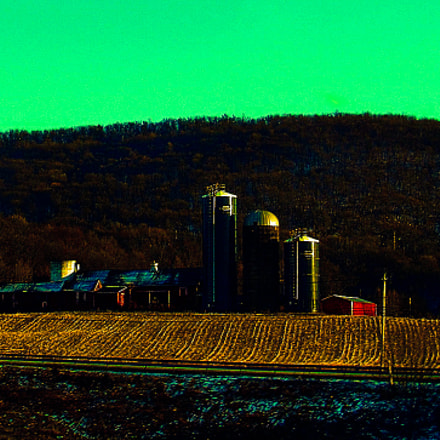 Lone Farm in the, Canon POWERSHOT SX530 HS