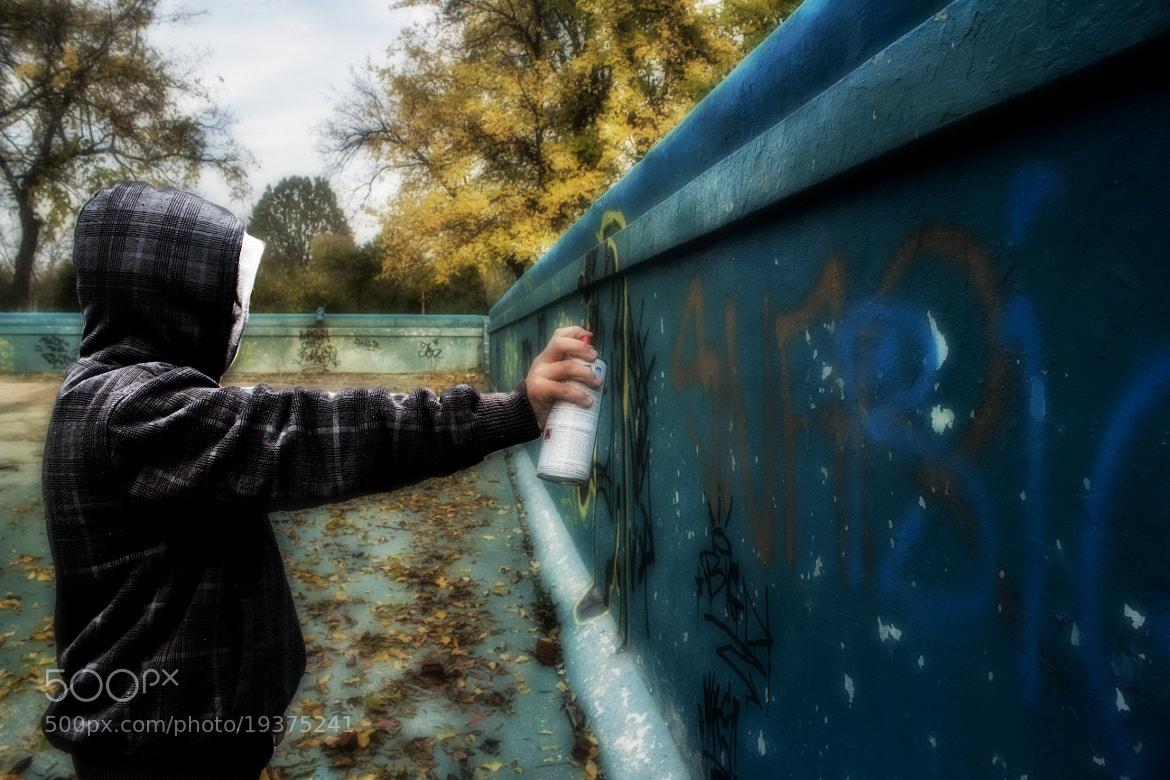 Photograph Graffiti- the world nowadays by Emil Kovacs on 500px