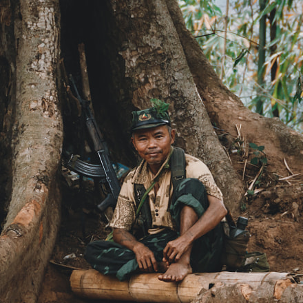 REBEL SOLDIER | HSIPAW, MYANMAR, Canon EOS REBEL T4I, Canon EF 24-105mm f/3.5-5.6 IS STM