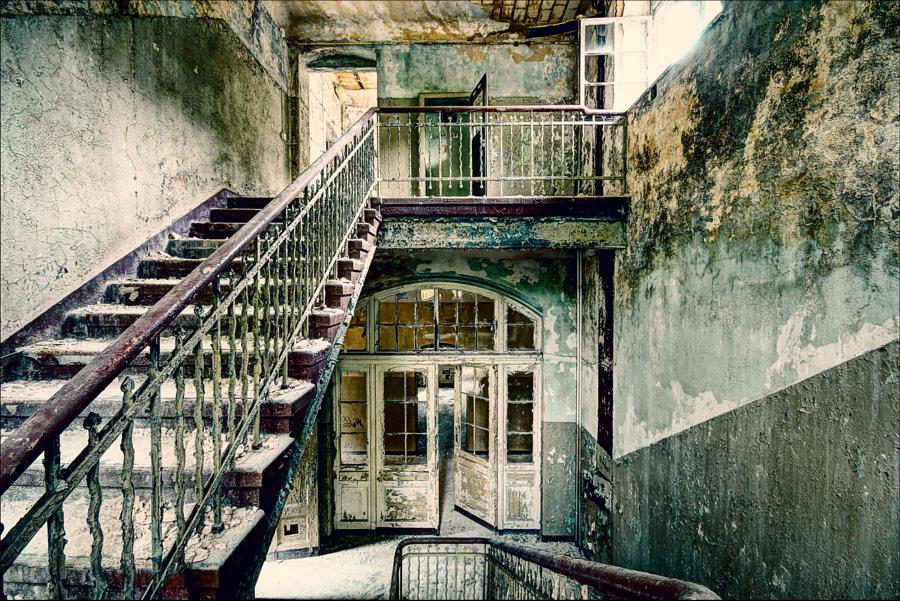 Stairways in Beelitz