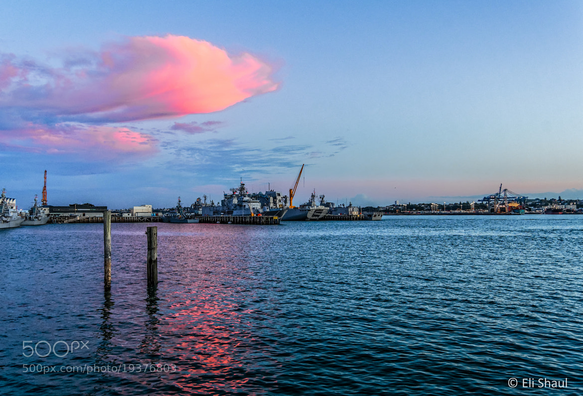 Photograph Sunset over the navy by Eli Shaul on 500px