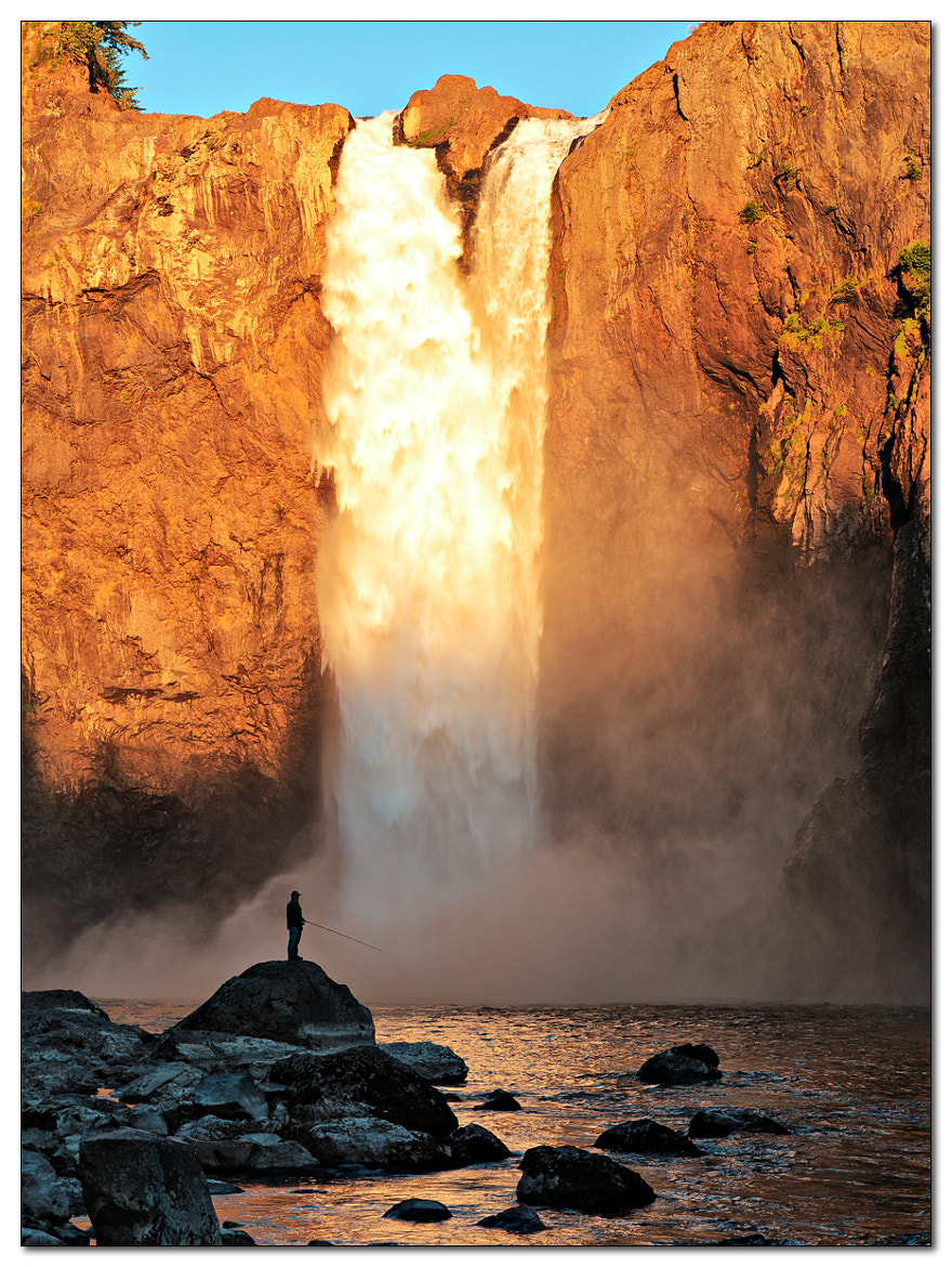 Photograph Snoqualmie Falls by Jameel Hyder on 500px