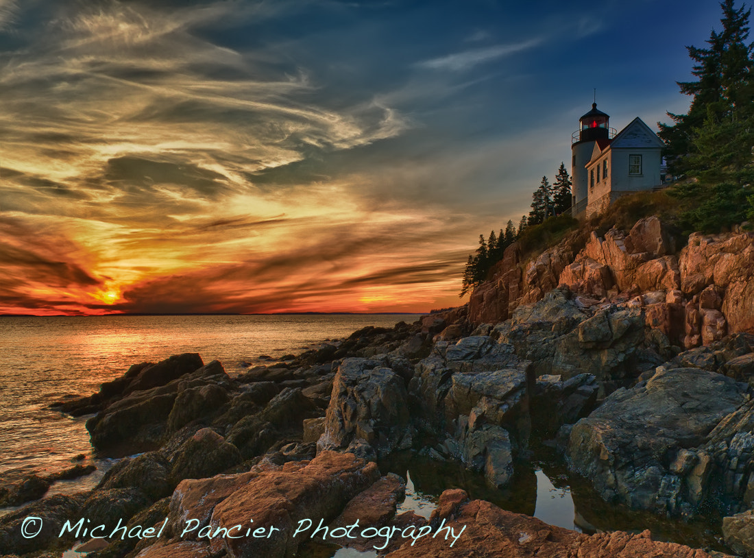 Photograph Bass Harbor Lighthouse Another Take by Michael Pancier Photography on 500px
