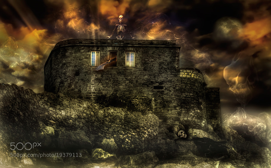 Photograph The House of Death by Roberto Becucci on 500px