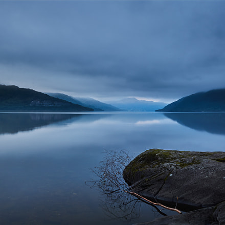 Early morning at Loch, Sony ILCE-6000, Sigma 19mm F2.8 [EX] DN
