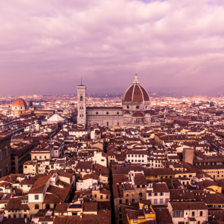 Florence from Palazzo Vecchio, Canon POWERSHOT S100