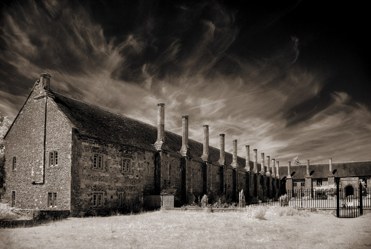Photograph Chimneys and Clouds at St. Cross by Richard Gadd on 500px