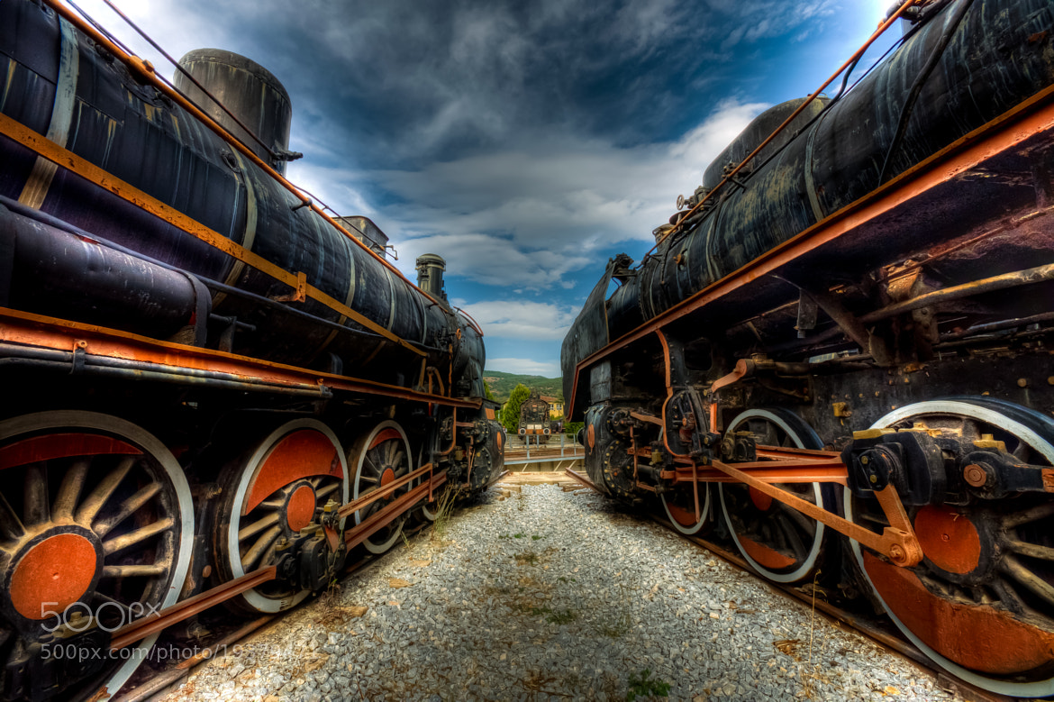 Photograph Train Museum by Nejdet Duzen on 500px