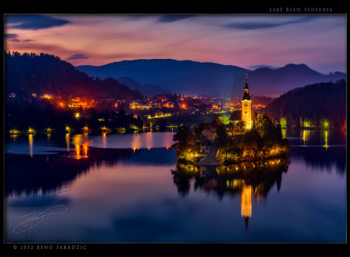 Photograph Lake Bled in Slovenia III by Beno Saradzic on 500px