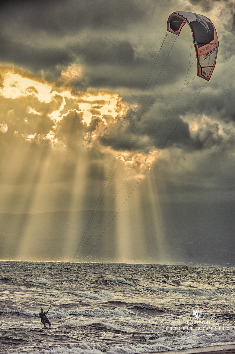 Photograph Kite serf by Antonis Panitsas on 500px