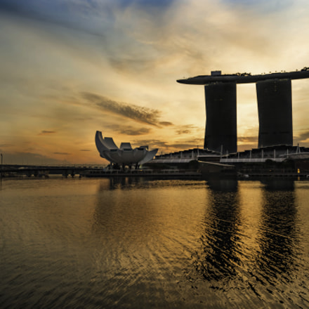 Sunrise at Marina Bay, Canon EOS 6D, Canon EF 24-105mm f/4L IS