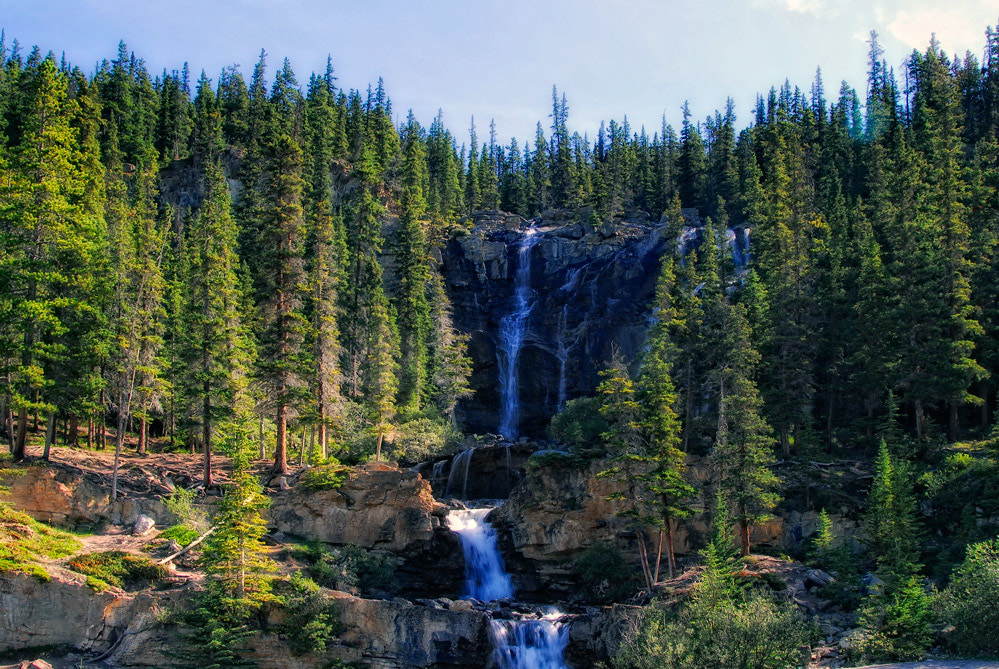 Photograph Waterfalls in Jasper by Greg McLemore on 500px