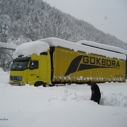 Bulgaristan'da Kar...Snow in Bulgaria, Canon POWERSHOT SD600