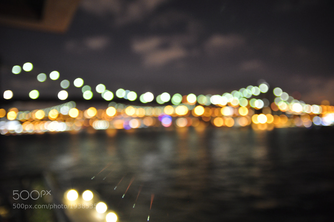 Photograph Brooklyn Bridge Bokeh by Jason John on 500px