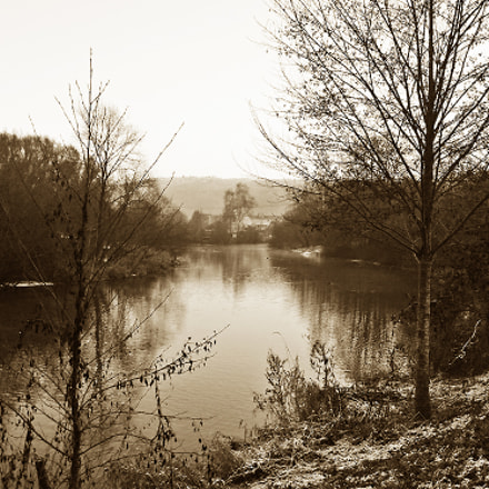 ... winter at the riverside ..., Canon EOS 400D DIGITAL, Canon EF 50mm f/1.8