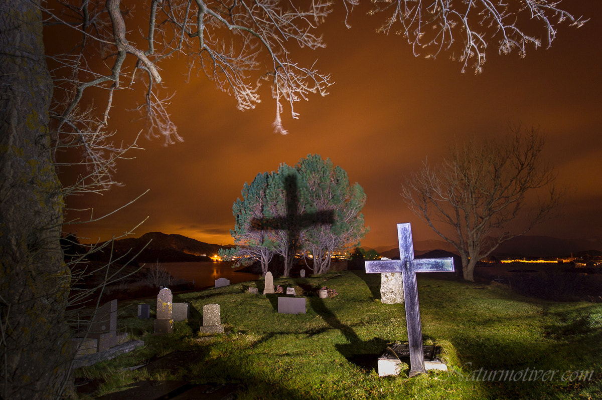 Photograph Night at the graveyard... by Geir Magne  Sætre on 500px