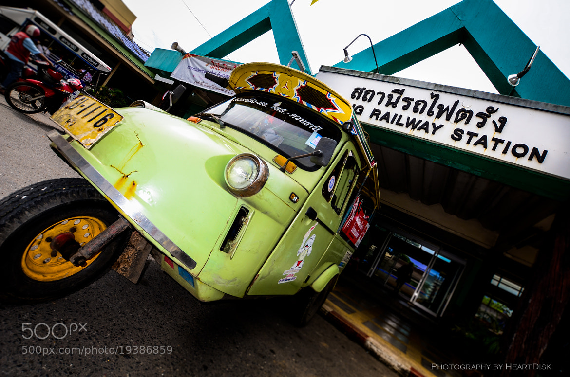 Photograph Tuk Tuk in Thailand (Trang) by Heart Disk on 500px