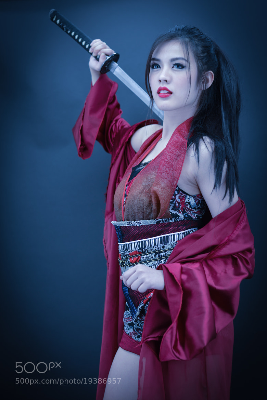 Photograph Samurai girl by Natapong P. on 500px