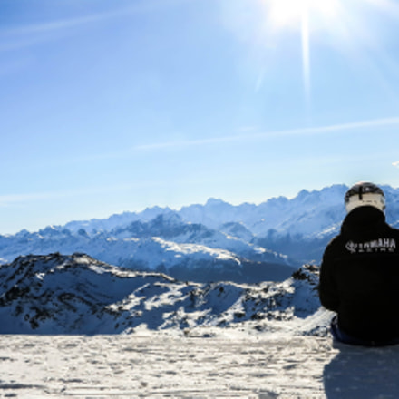Chilling in French Alps, Canon POWERSHOT G1 X