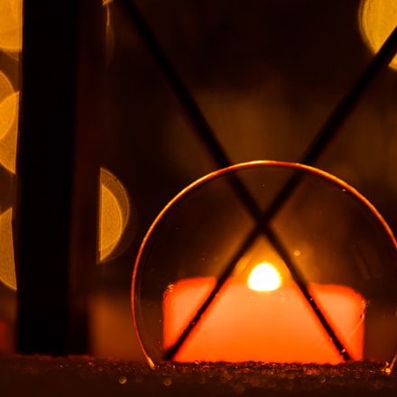 Candlelight through soap bubble., Canon EOS 760D, Canon EF 75-300mm f/4-5.6 IS USM
