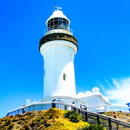 Cape Byron Lighthouse, Canon POWERSHOT SX100 IS