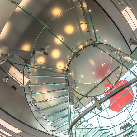 Apple Store top, Canon EOS 5D MARK IV, Canon EF 8-15mm f/4L Fisheye USM