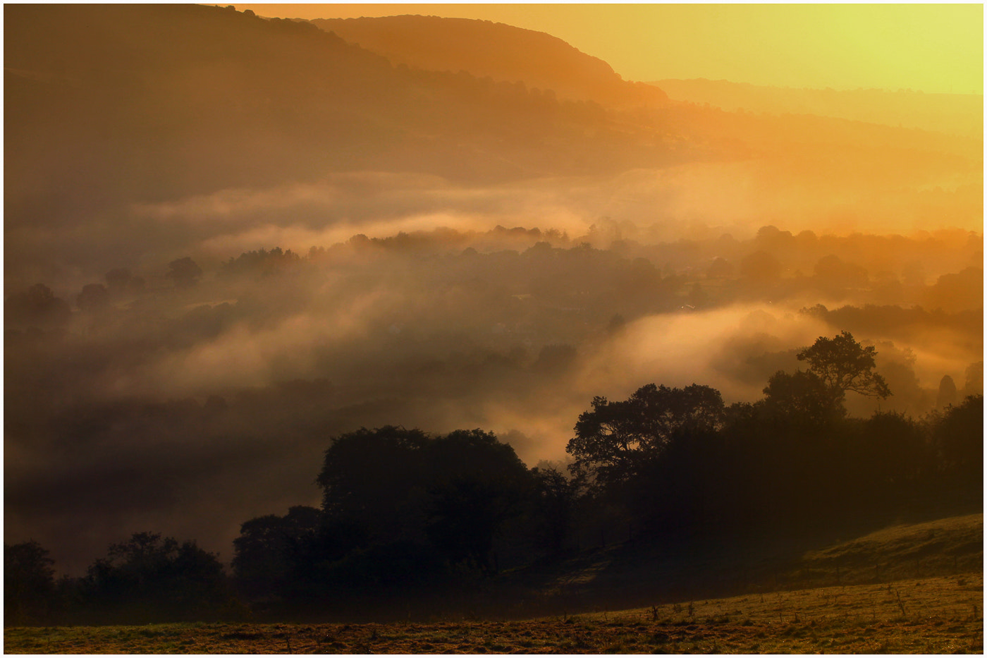 Photograph The Morning Hues by Alan Coles on 500px