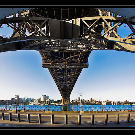 Harbour bridge, Canon EOS 5D MARK III, Canon EF 15mm f/2.8 Fisheye