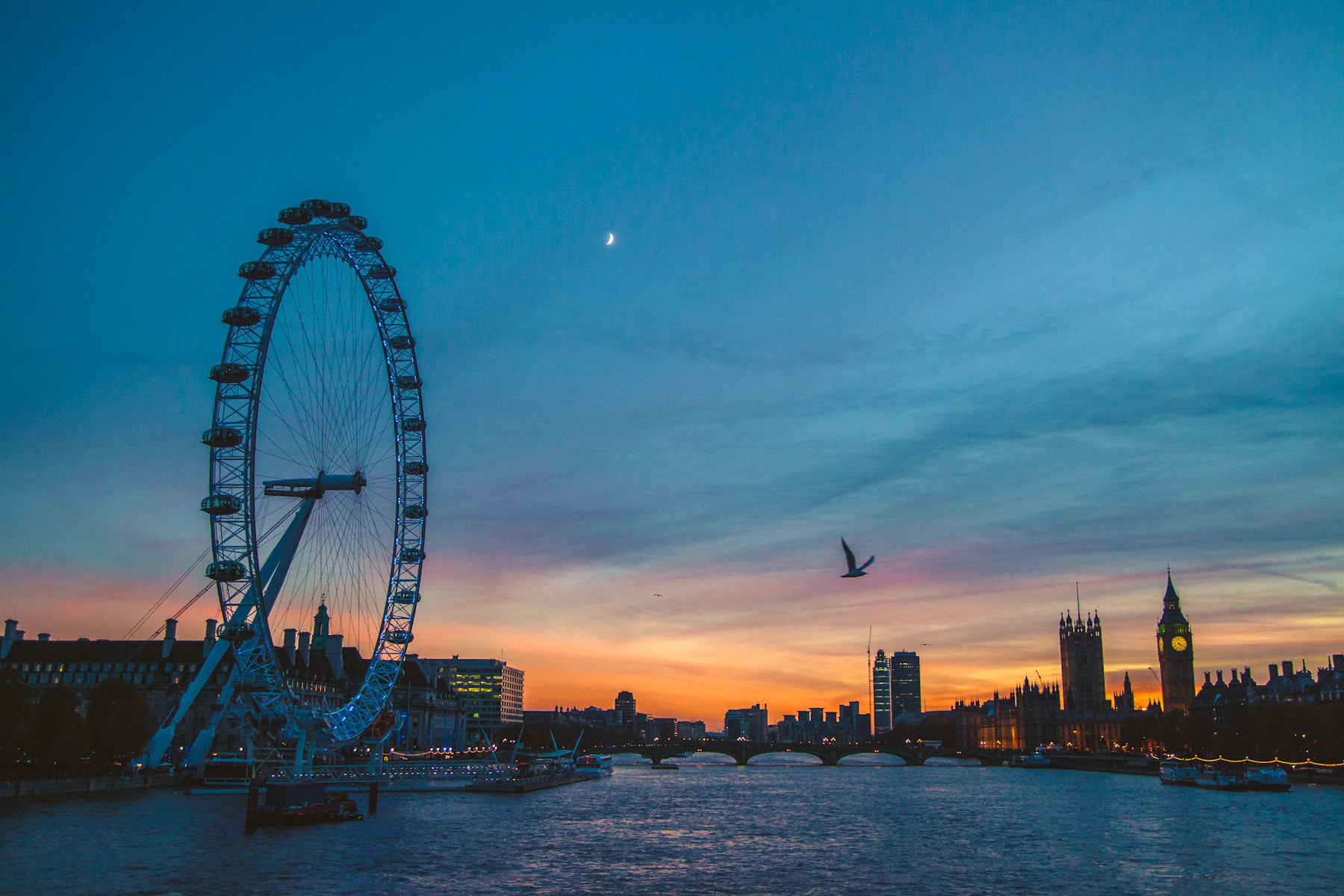 Photograph London Eye by Julia Caban on 500px
