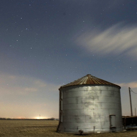 night silo, Canon EOS 10D