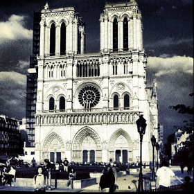 Notre Dame by Rand Miranda (RandGM)) on 500px.com