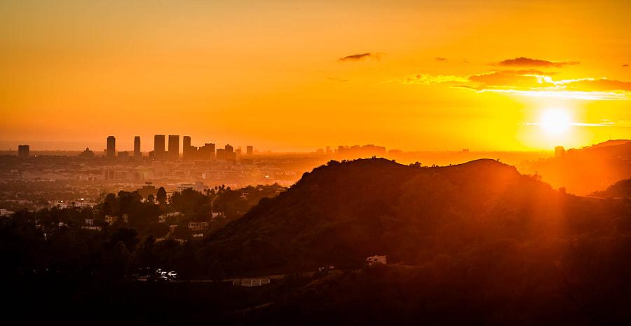 Sunset on Los Angeles