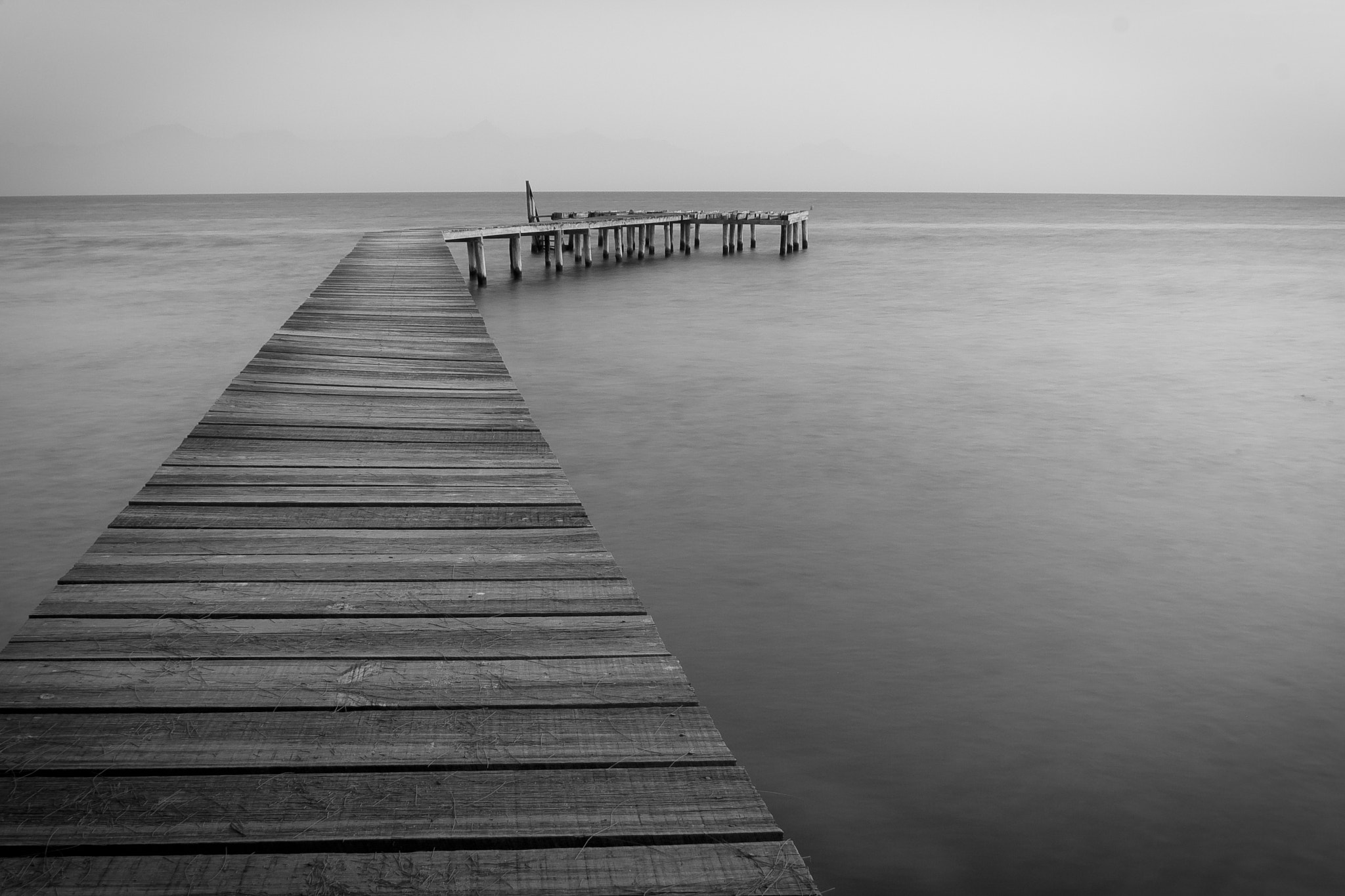 Photograph Long Pier by Ken Forde on 500px
