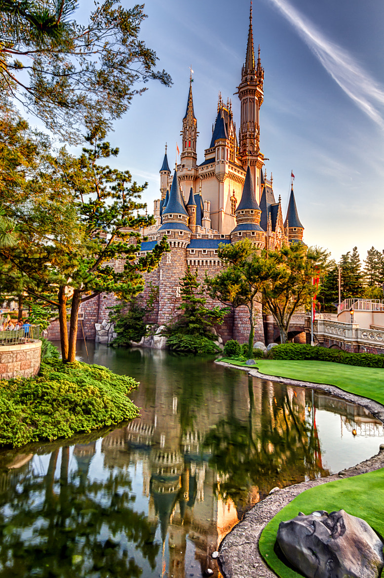 Photograph Tokyo Disney Magic Castle by David Edenfield on 500px