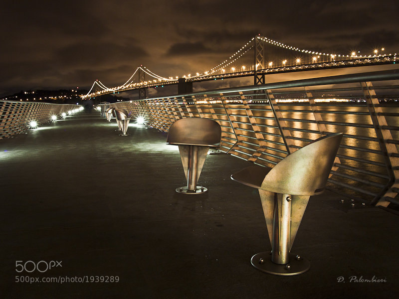 Photograph Bay Bridge from Pier 14 - San Francisco by Dominique  Palombieri on 500px