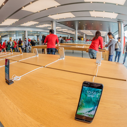 Apple Store Hong Kong, Canon EOS 5D MARK IV, Canon EF 8-15mm f/4L Fisheye USM