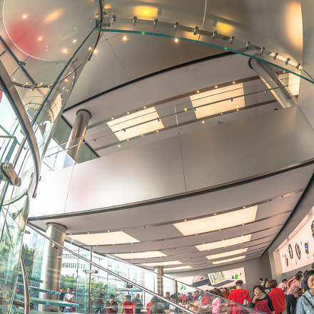 Hong Kong Apple Store, Canon EOS 5D MARK IV, Canon EF 8-15mm f/4L Fisheye USM