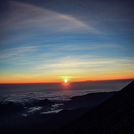 from mt.rinjani, Canon EOS 650D, Canon EF 8-15mm f/4L Fisheye USM