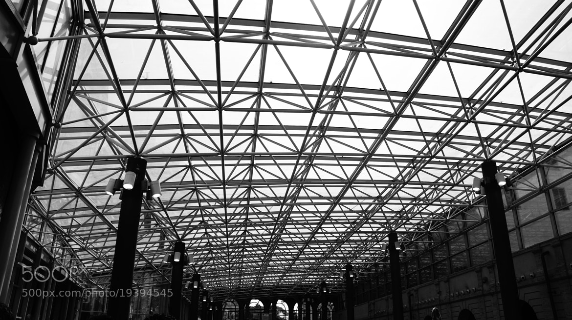 Photograph Good structure contains Triangles  by David Lin on 500px