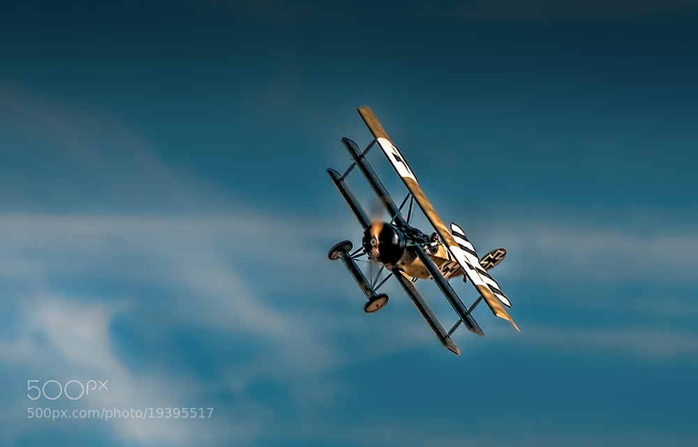 Photograph Fokker Dr1 Triplane by Richard Tierney on 500px