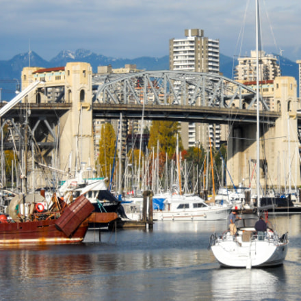 Burrard Bridge, Nikon COOLPIX L20