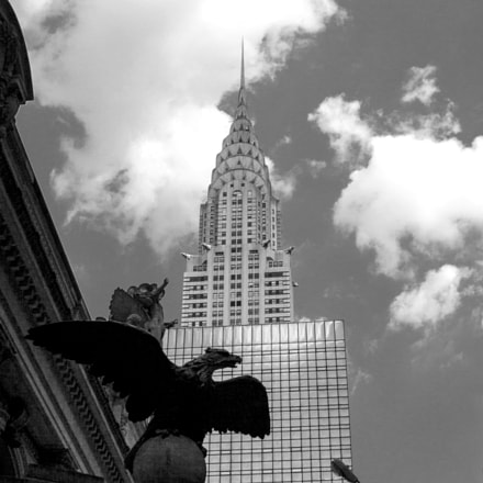 Empire state building, Canon EOS 50D, Canon EF 28-135mm f/3.5-5.6 IS